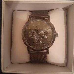 Geneva Stainless Steel Watch